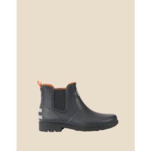 Boots réfléchissantes et imperméables Urban Circus x Aigle - coté
