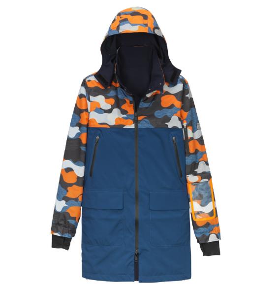 Waterproof reversible jacket Urban Circus x Aigle