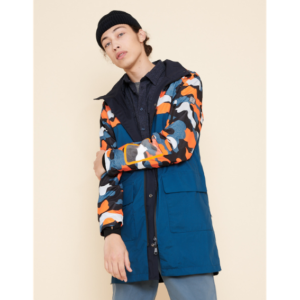 Waterproof reversible jacket Urban Circus x Aigle